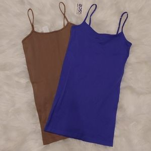 2 Basic O/S Cami bundle